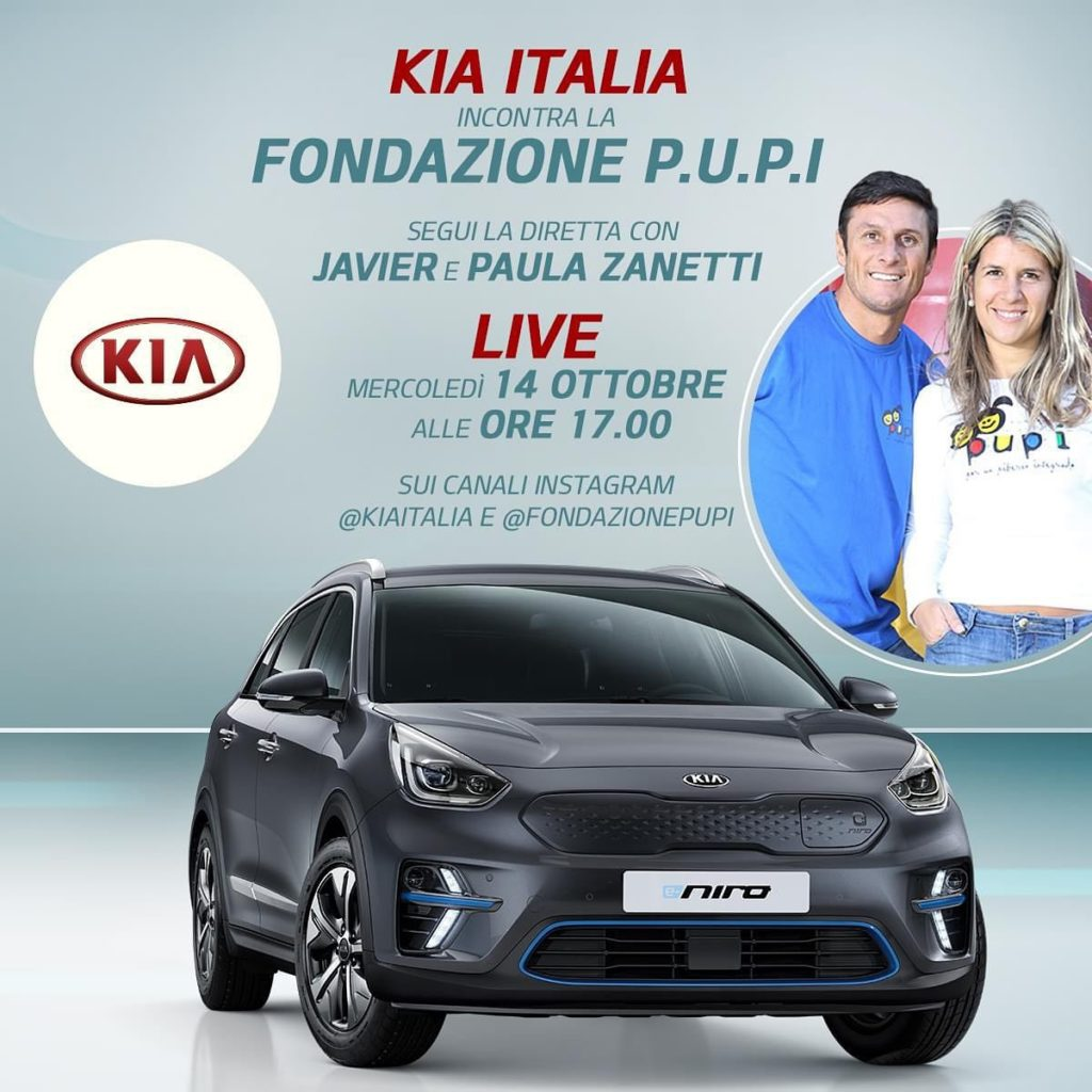 Kia e Fondazione PUPI